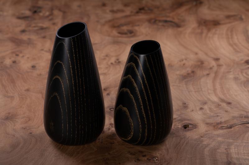 Vaser i ask